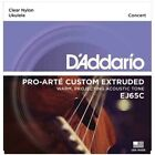 DAddario EJ65C Pro Art Custom Extruded Nylon Concert Ukulele Strings