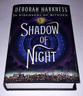 SIGNED with TAGLINE Shadow of Night All Souls Book 2 DEBORAH HARKNESS 1 1 +pic