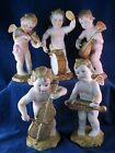 Lot of 5 Musicans Angels Ardalt Lenwile China Hand Paint Occupied Japan