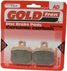Sintered Goldfren Brake Pads For Malaguti NKD 50 Drakon Front RH 2005-2009