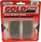 Sintered Goldfren Brake Pads For CCM CR 40 S CafeRacer Front RH 2007-2008