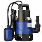 1 2 HP 2113GPH 400W Submersible Water Pump Swimming Pool Dirty Flood Sump Pump