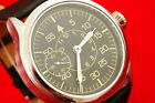 Vintage Russian USSR vs Germany MILITARY style pilots watch LACO