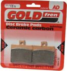 Sintered Goldfren Brake Pads For Malaguti F18 Warrior 150cc Rear RH 2000-2003