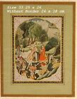 VINTAGE INDIAN MUGHAL PROVINCIAL MINIATURE PAINTING OF LORD SHIVA COLLECTIBLE IN