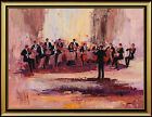 Mark King Original Acrylic Painting On Canvas Large Signed Authentic Music Oil