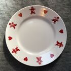 GINGERBREAD MEN AND HEARTS CHRISTMAS CORELLE PLATE