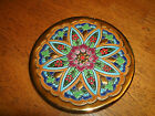 VERY NICE HAND MADE IN SPAIN SEVILLA CERAMIC WALL PLATE, FREE SHIPPING!