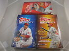 2012 Topps Baseball Sealed Hobby 3 Box lot. Series 1, Series 2, Update Series.