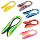 120 Stripes Quilling Paper 5mm Width Mixed Color Origami Paper Craft DIY Toy New