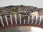Antique Round Pierced Reticulated Benedict Silver Plate Silverplate Copper Tray