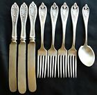 1847 OLD COLONY ROGERS BROS XS TRIPLE SILVER PLATE FLATWARE