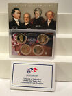 Lot of 10 US Mint Presidential 1 Coin Proof Set 2008