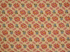 Reproduction Vintage Small Print Cotton Blend Fabric, 4 5/8 yds. X 45
