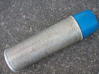Vintage Thermos Brand #2484 Quart Size Ribbed Sides Blue Cup Very Good Condition