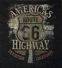 Vintage Route 66 America's Highway Tapestry Pillow Top Fabric Panel Piece New