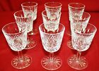 Waterford Crystal - Lismore Pattern - 9 Port Wine Glasses - 4¼ inches