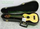 Kalia Hawaiian Mele Ukulele SOPRANO 4 string Hand Crafted Spruce Top Hard Case