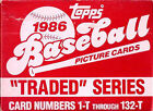 1986 Topps Traded Baseball Set with Barry Bonds Canseco Bo Jackson Rookie card
