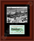 1955 Disneyland Opening Day Ticket Matted Photo Display 11X14 Mickey Disney