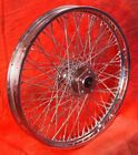 Ultima Chrome 21 x 215 80 Spoke Front Wheel 1984 1999 Harley Davidson Softail