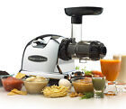 Fruit Juicer Vegetable Extractor Dual Stage Machine Masticating Juicer System