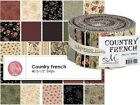Country French By Maywood Studio - Jelly Roll Strips