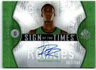 RAJON RONDO 06 UD SP AUTHENTIC SIGN OF THE TIMES AUTO AUTOGRAPH RC CARD #87 100!