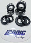 01-15 Yamaha WR250F WR450F BOTH Front and Rear Wheel Bearing and Seal Kit OEM