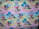 DAISY SURFS UP COTTON PINK FREE SHIP BTY NEW