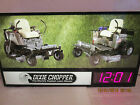 RARE DIXIE CHOPPER DEALER LIGHT UP SIGN CLOCK MANCAVE ZERO TURN LA