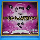 GO-MATRIA Modern Word Game with Ancient Values GDC  NIB Sealed