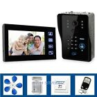 Door Phone Doorbell Touch Key Video With Ir Camera With Keypad Door Lock Remote