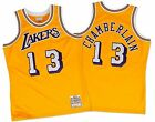 Mitchell and Ness Los Angeles Lakers NBA Authentic Wilt Chamberlain 1971-72