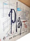 PLAYTIME PLAY TIME 1967 Jacques Tati Huge French BILLBOARD poster 126x188