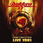 DOKKEN - FROM CONCEPTION: LIVE 1981 [REMASTER] NEW CD