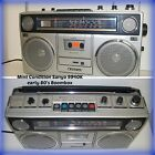 MINT COND VTG early 80's SANYO 9940K Japan Cassette AM/FM Boombox Ghetto Blaster
