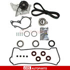 Timing Belt Water Pump Valve Cover Gasket Kit For Toyota Corolla GEO Prizm 18L