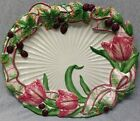 Fitz & Floyd Essentials Blackberry Rabbit Serving Platter g432