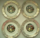 Set of 4 Warranted 22K Plates