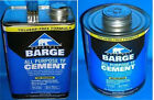 Barge Original All-purpose Cement Tf Gallon Or Quart Shoe Glue Tin Can Quabaug