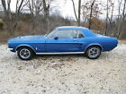 Ford Mustang Big Block 4 Speed S Code Rare 1967 Ford Mustang Factory S Code 390GT Big Block 4 Speed 9 Rear End Car 67