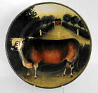 MINT Cow Salad Dessert Plate By BLOCK Country Farm 1995 8 1/4