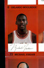 1985-86 MICHAEL JORDAN Rookie Card. - Canon Camera Autograph Night Promo