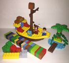 LEGO Duplo Jake's Pirate Ship Bucky (10514) Parts w/Captain Hook