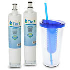 Fits Whirlpool 4396508 4396510 EDR5RXD1 46-9010 Comparable Water Filter 2 Pack