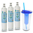 Fits Whirlpool 4396508 4396510 EDR5RXD1 46-9010 Comparable Water Filter 3 Pack