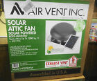 Air Vent Inc NPSP8WW Roof-Mounted Solar Powered Attic Fan 1200sq.ft. 800 CFM