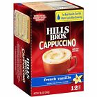 HILLS BROS FRENCH VANILLA CAPPUCCINO 12 CT Keurig FREE SHIP