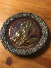 Fenton Red Carnival Glass Mother Days Plate 1971